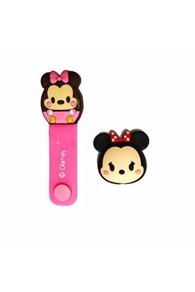 Sevimli Minnie Kablo Koruyucu Ve Toparlayıcı Set