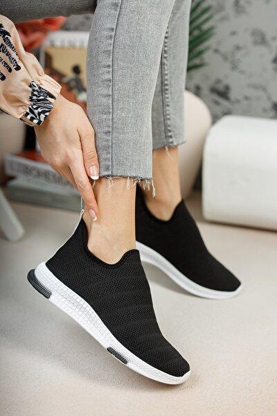Kadın Siyah Çorap Sneaker