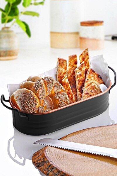 Galvaniz Ekmeklik - Iskandinav Tarzı- 18 Cm
