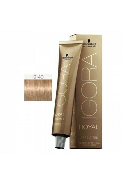 Royal Absolutes Saç Boyası 60 ml 9-40 Sarı-doğal Bej