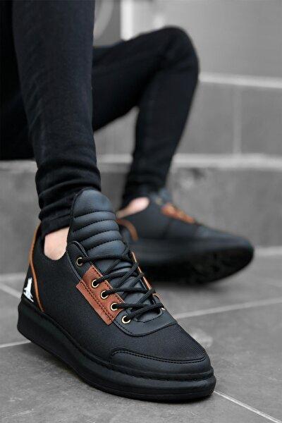 Erkek Siyah  Casual Sneakers