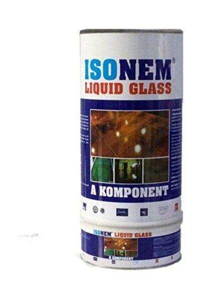 Liquid Glass (Sıvı Cam) Şeffaf Zemin Su Yalıtımı 4 Kg