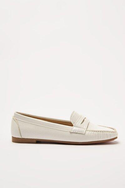 Beyaz  Loafer Ayakkabı 01AYY212280A900