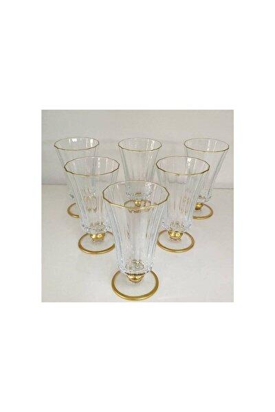 440186 Diamond Gold 6 Parça Bardak Seti Kahve Yanı Su Bardağı