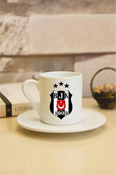 Beşiktaş Logolu Türk Kahvesi Fincanı