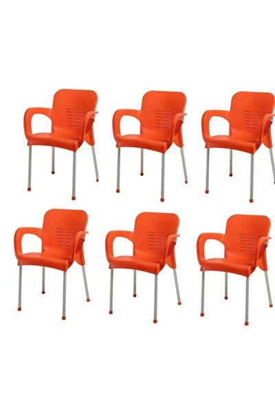 Plastik Sandalye 6 Adet