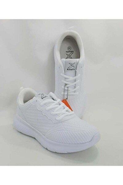 Barnes Beyaz Renk Bayan Spor Ayakkabı Hafif Ve Kışlık