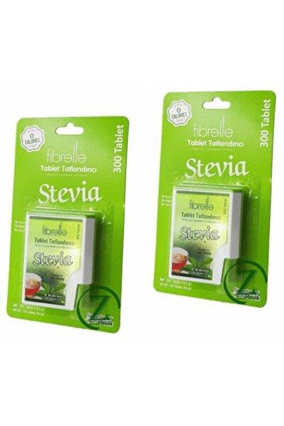 Stevia Tablet Tatlandırıcı - 300 Tablet X 2 Kutu