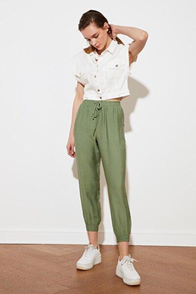 Yeşil Jogger Pantolon TWOSS20PL0129
