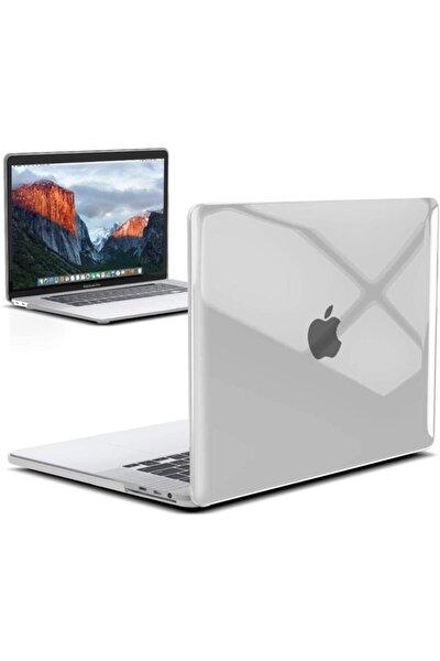 """Apple 13"""" Macbook Air 2020 (m1) A2337 Şeffaf Kılıf Koruyucu Kapak Cmatm-133t"""