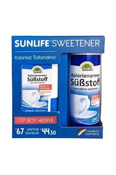 Sweetener Tatlanıdırıcı + Hediyeli 1200+300 Tablet
