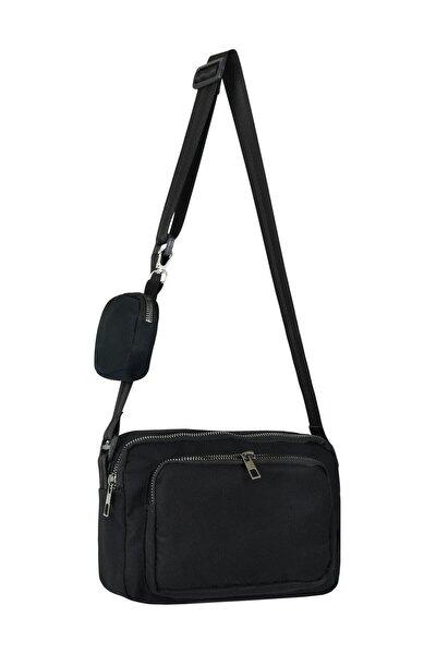 Siyah Cüzdanlı Çanta C0018