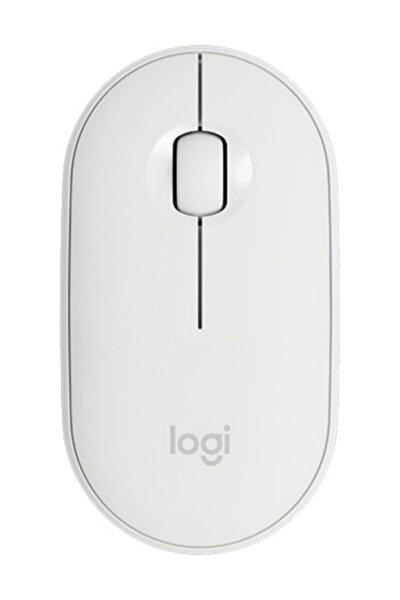 Beyaz Pebble M350 Kablosuz Bluetooth Mouse