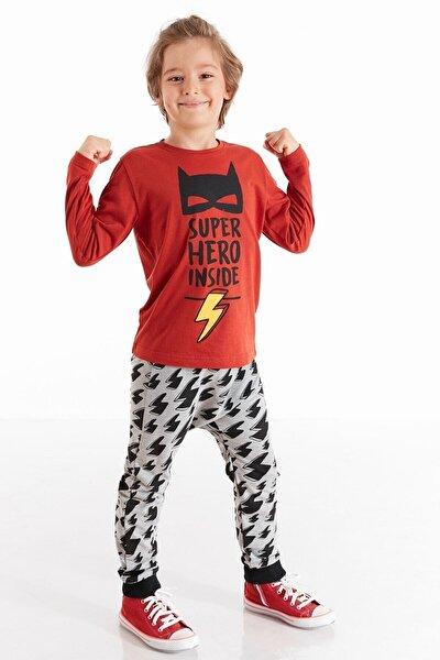 Super Hero Erkek Çocuk Pantolon Takım