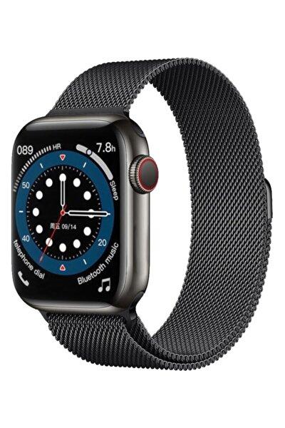 Smartwatch 6 Pro Edition Plus - Yeni Versiyon Android Ve Ios Uyumlu Çelik Kordon Akıllı Saat