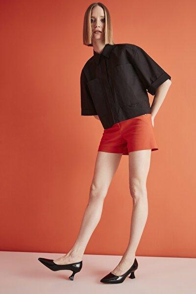 Siyah Kadın Klasik Topuklu Ayakkabı 01AYH205380A100