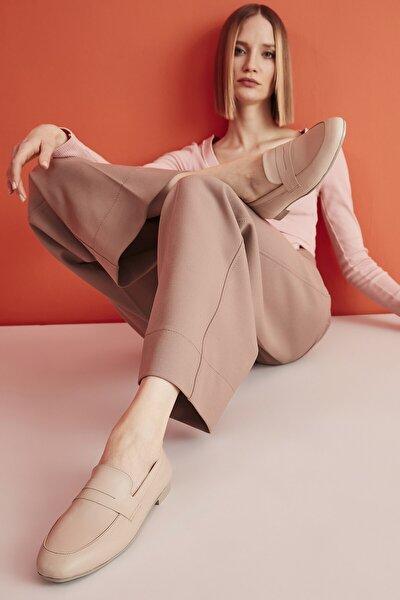 Naturel Kadın Loafer Ayakkabı 01AYY204570A330
