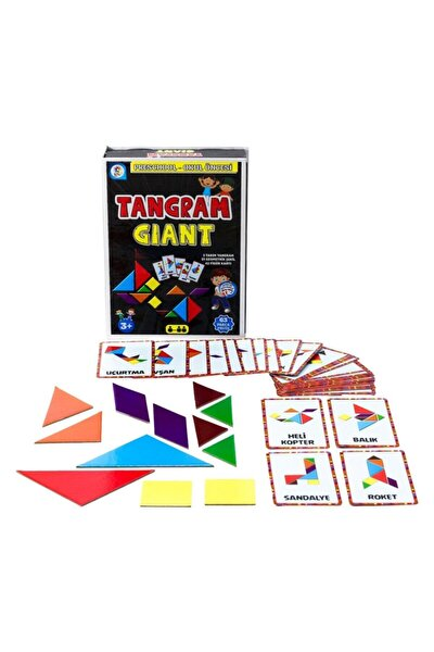 Kids Okul Öncesi Tangram Giant Eğitici Ve Geliştirici Oyun