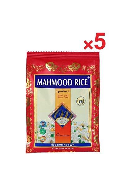 Mahmood Rice Basmati Pirinç 900 gr X 5 Adet