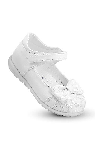 Kız Çocuk Bebek Ortopedik Ayakkabı Spor Babet Bssk 200 Beyaz