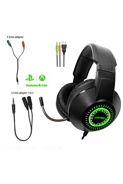 Hd Mikrofonlu Oyuncu Kulaklık,stereo Gaming Kulaklık Pc/ps4/xbox/tel Uyumlu H03 Rgb