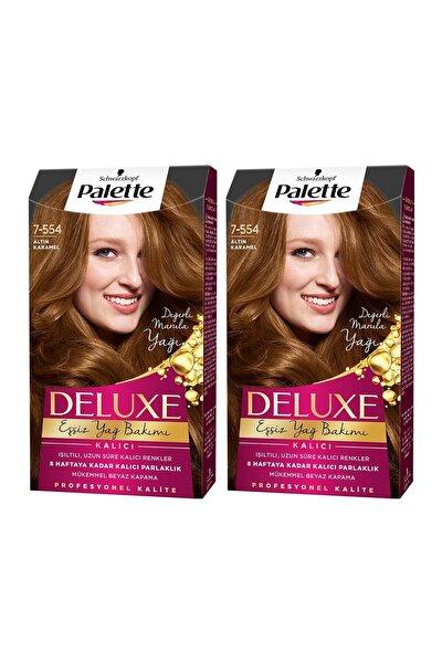 Deluxe 7-554 Altın Karamel  X 2 Adet