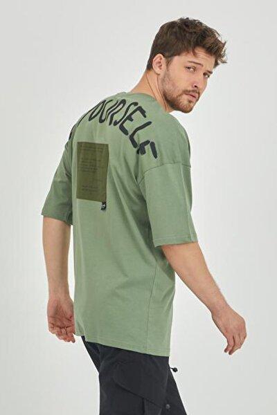 Yeşil Erkek T-shirt 1kxe1-44793-08