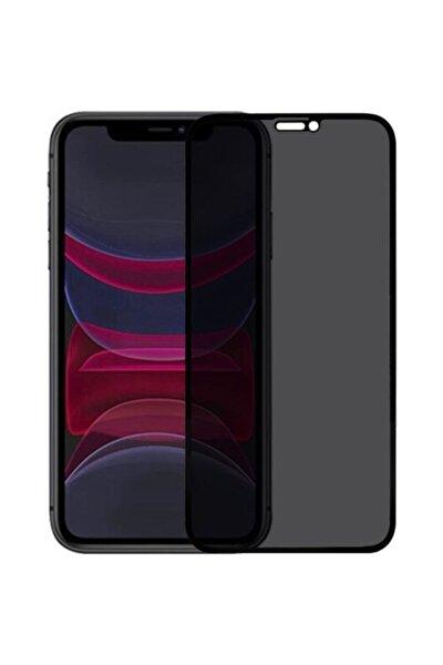 Iphone 11 Gizli Hayalet 5d Tam Kaplayan Kırılmaz Cam ( Siyah )