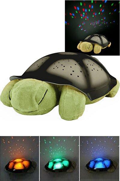 Renk Değiştiren Müzikli Işıklı Kaplumbağa Projeksiyon Gece Lambası