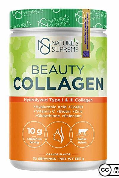 Beauty Collagen Powder 360 gr - Portakal