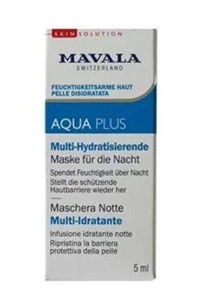 Aqua Plus Multi Nemlendirici Uyku Maskesi 5 Ml