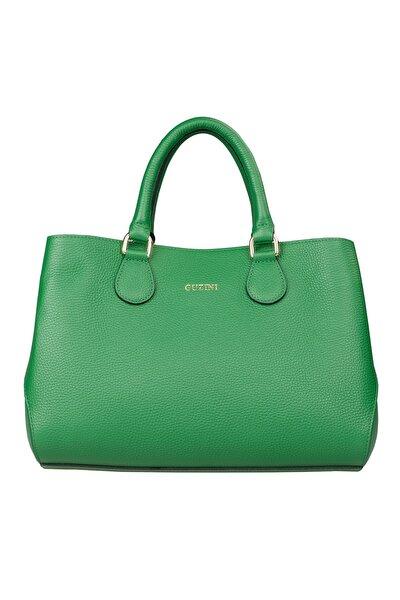 Kadın Deri Çanta 7666 Yeşil