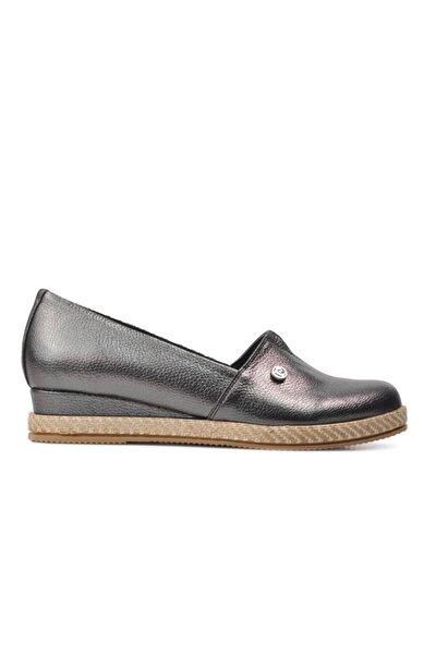 51266 Platin Kadın Günlük Ayakkabı