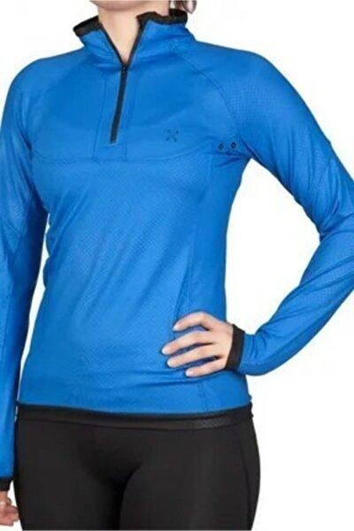 Kadın Saks Sweat T-shirt 172211