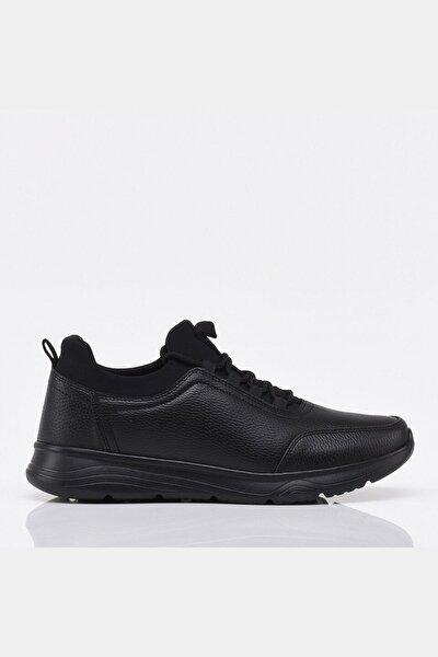Siyah Yaya Erkek Spor Ayakkabı