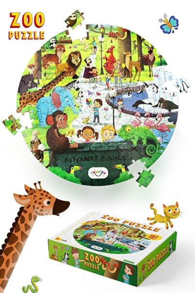 & Oyunzu Hayvanat Bahçesi Zoo Puzzle 147 Parça / Oval