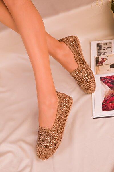 Taba Kadın Casual Ayakkabı 16117