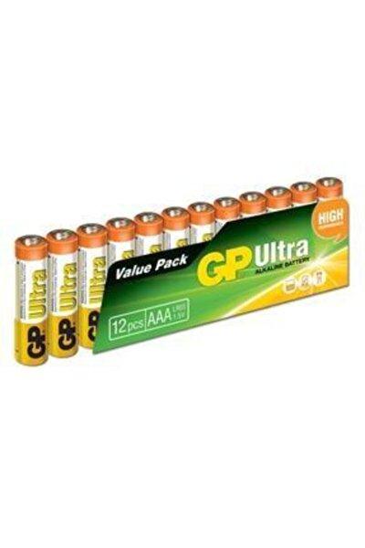 Batteries Ultra Alkalin Aaa Ince Kalem Pil 12 Adet