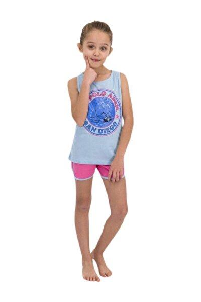 Kız Çocuk Uçuk Mavi Takım 858-g