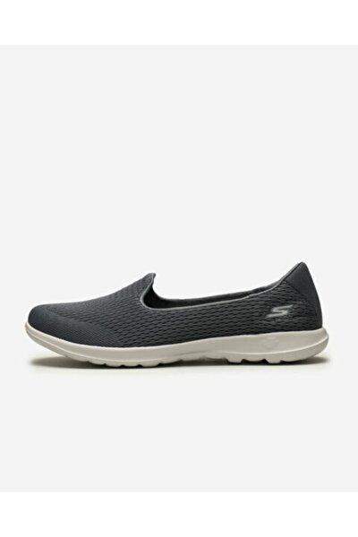 GO WALK LITE - SHANTI Kadın Gri Yürüyüş Ayakkabısı 15410 CHAR
