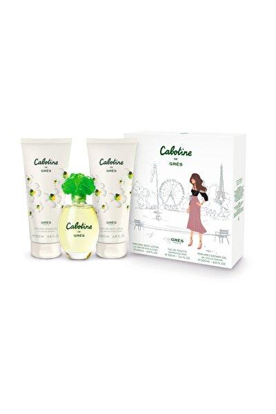 Cabotine De Edt 100 ml Kadın Parfüm Set  7640171190747