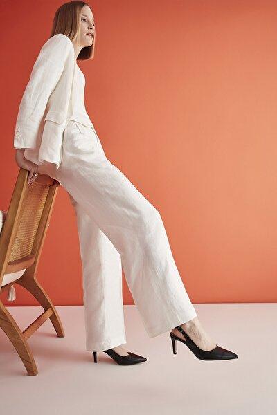Siyah Kadın Klasik Topuklu Ayakkabı 01AYH207120A100