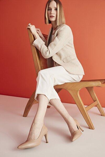 Camel Kadın Klasik Topuklu Ayakkabı 01AYH207110A340