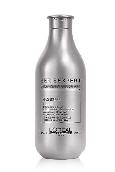 Serie Expert Silver Çok Açık Sarı Gri Ve Beyaz Saçlar İçin Renk Dengeleyici Mor Şampuanı 300 ml