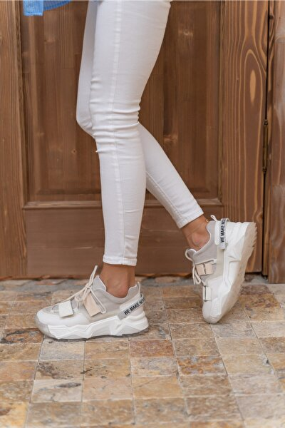 Kadin Beyaz Multi Sneakers