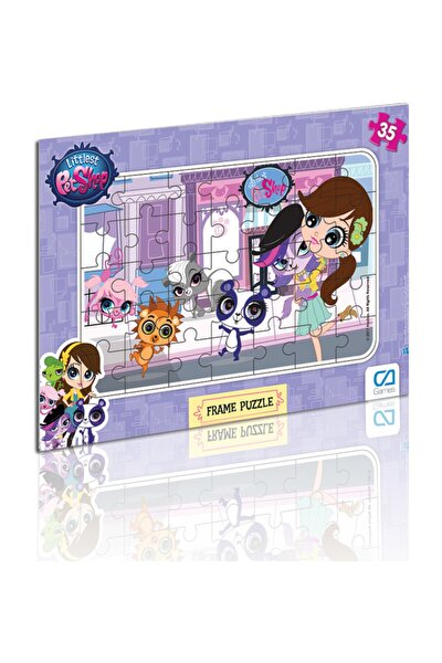 Ca Oyuncak Lıttlest Pet Shop Frame Puzzle 35 -1