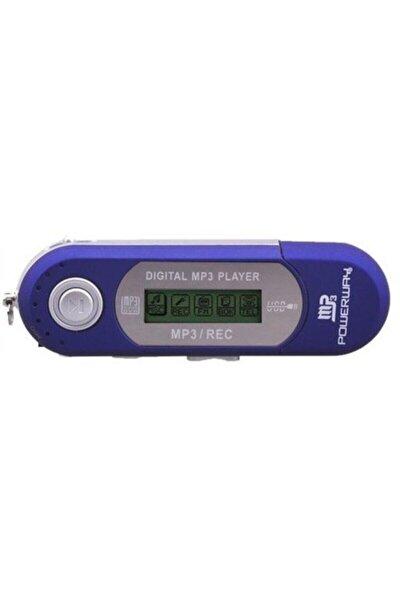 Pw01 Fm Radyolu Pilli 4gb Dahili Hafızalı Usb Girişli Müzik Mp3 Player Çalar