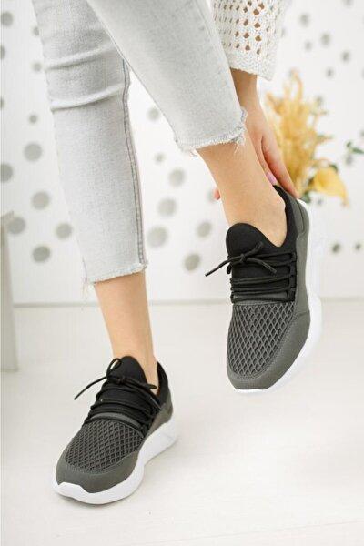 Unisex Gri Sneaker Ayakkabı Polo308