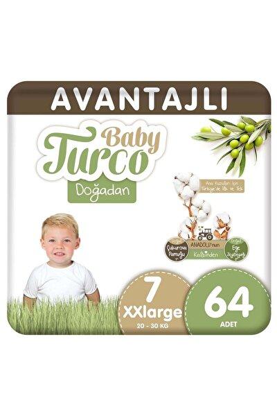 Doğadan Avantajlı Bebek Bezi 7 Numara Xxlarge 64 Adet