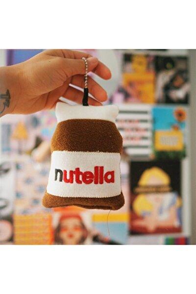 Nutella Pofuduk Peluş Anahtarlık